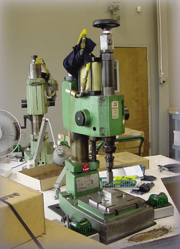 Accurate Metal Sawing has Parts marking equipment