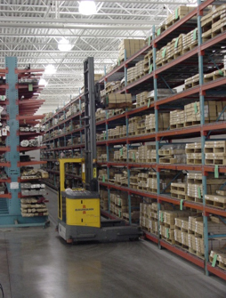 Steel warehousing and inventory management